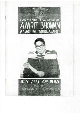 1st Amrit Bhowan Memorial Tournament